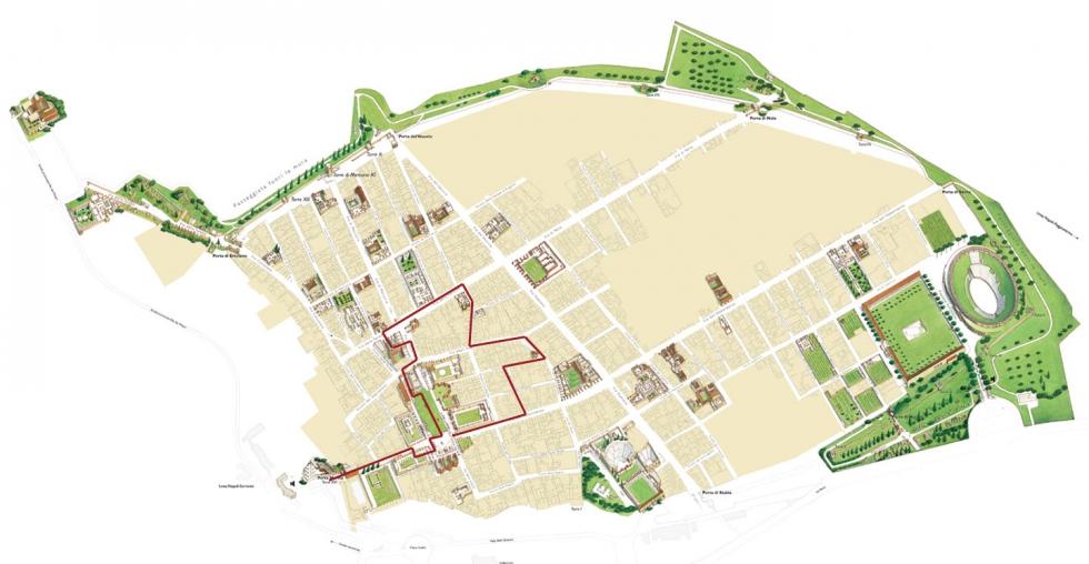 Pompei Tour Porta Marina 2 ore